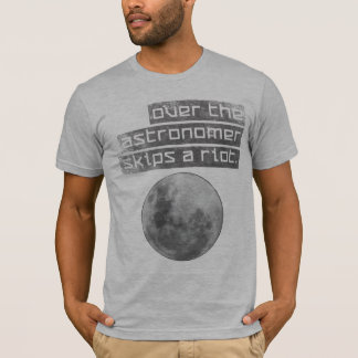 Astrónomo Camisetas