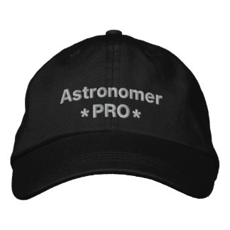 Astrónomo pro boné bordado