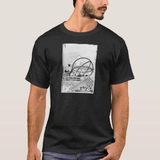 Astrónomos que trabalham durante o período de Edo Camisetas