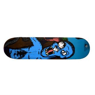 Ataque do monstro de Kawaii Shape De Skate 20cm