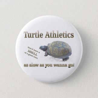 Atletismo da tartaruga bóton redondo 5.08cm
