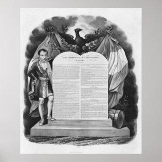 Ato adicional do 22 de abril de 1815 posteres