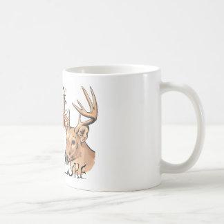 atração do fanfarrão do campónio caneca de café