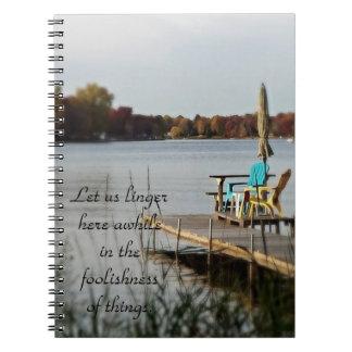 Atrasa-se o caderno
