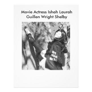 Atriz Laura Guillen aka Ishah do filme Flyer 21.59 X 27.94cm