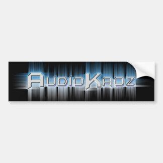 AudioKaoz Bumpersticker Adesivo Para Carro