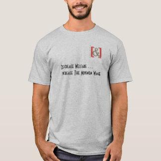 Aumente a camisa dos homens do salário mínimo -