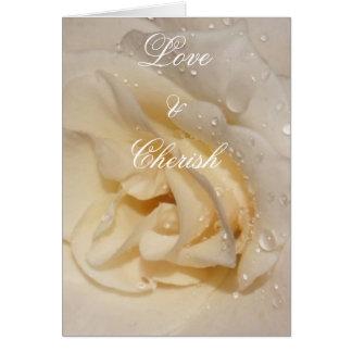 aumentou, Love&Cherish Cartão Comemorativo