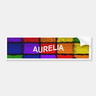 AURELIA (nomes fêmeas) Adesivo Para Carro