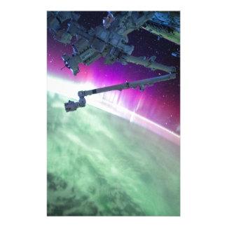 Aurora Borealis do espaço Papelaria