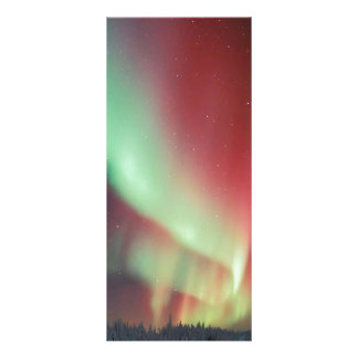 Aurora do Alasca Borealis Panfleto Informativo