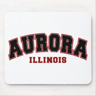 Aurora escolar mousepad