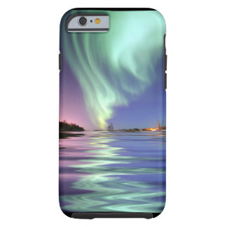 Aurora sobre Alaska Capa Tough Para iPhone 6