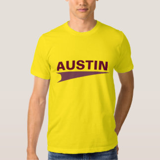 Austin feito sob encomenda camiseta