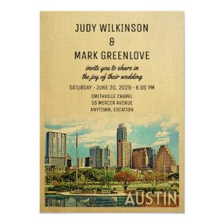 Austin que Wedding o convite Texas