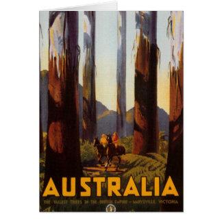 Austrália Cartão