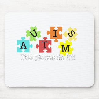 Autismo Awarness Mouse Pads