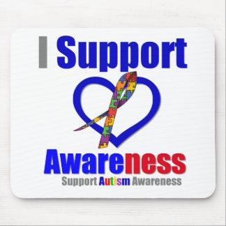 Autismo eu apoio a consciência mouse pads