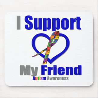 Autismo eu apoio meu amigo mouse pads