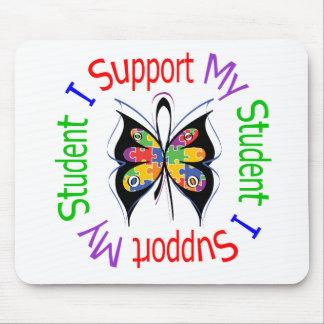 Autismo eu apoio meu estudante mouse pads