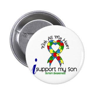 Autismo eu apoio meu filho pins
