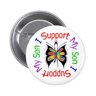 Autismo eu apoio meu filho boton