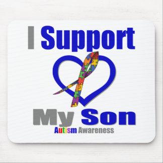 Autismo eu apoio meu filho mouse pad