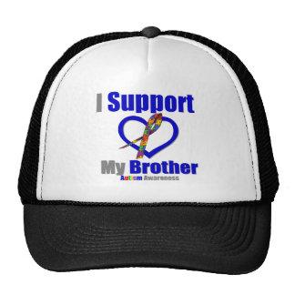Autismo eu apoio meu irmão bone