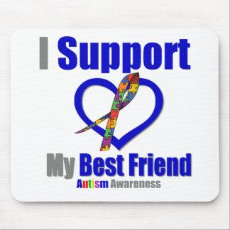 Autismo eu apoio meu melhor amigo mouse pads