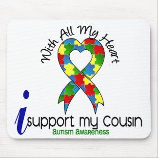 Autismo eu apoio meu primo mousepads