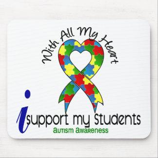 Autismo eu apoio meus estudantes mouse pads