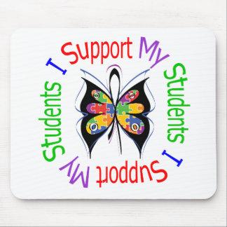 Autismo eu apoio meus estudantes mousepad