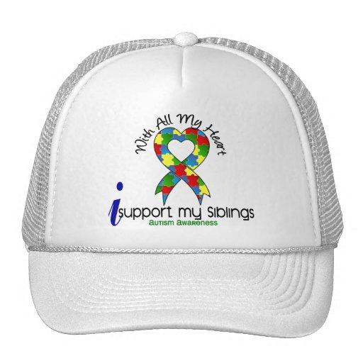 Autismo eu apoio meus irmãos bone