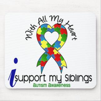 Autismo eu apoio meus irmãos mousepad