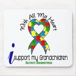 Autismo eu apoio meus netos mousepad