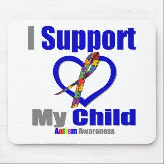 Autismo eu apoio minha criança mousepad