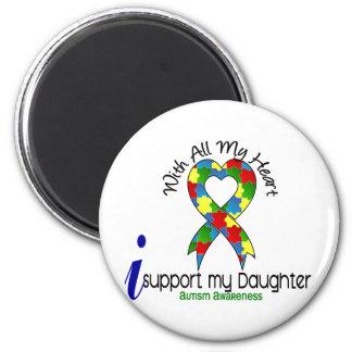 Autismo eu apoio minha filha imas de geladeira