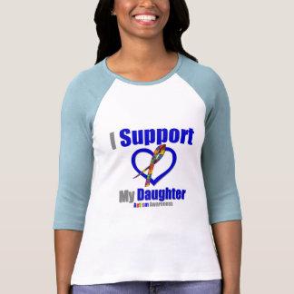 Autismo eu apoio minha filha tshirt