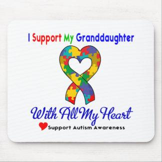 Autismo: Eu apoio minha neta com todo meu Hea Mousepad