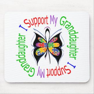 Autismo eu apoio minha neta mousepads