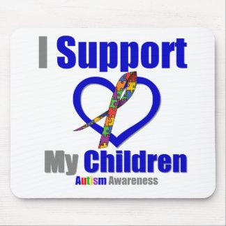 Autismo eu apoio minhas crianças mousepad