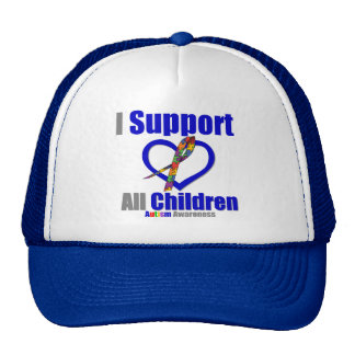 Autismo eu apoio todas as crianças bones