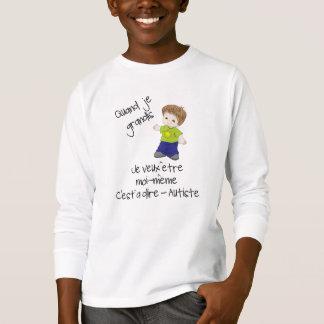 Autiste étant do en de Grandir Camisetas