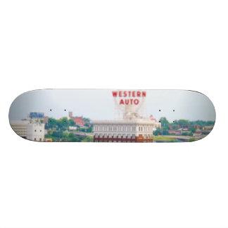 Auto condomínios ocidentais Kansas City do sótão Shape De Skate 18,7cm