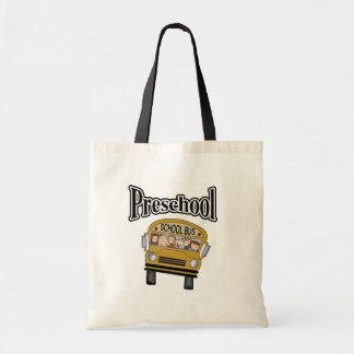 Auto escolar com os miúdos prées-escolar bolsas