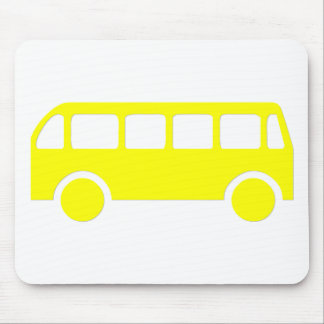 Auto escolar mouse pad