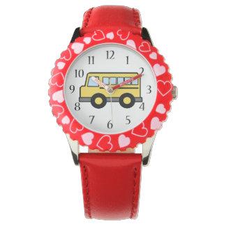 Auto escolar relógios