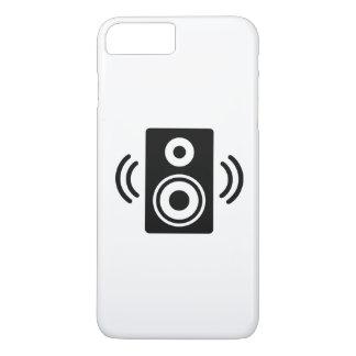 Auto-falante da música capa iPhone 8 plus/7 plus