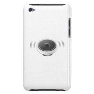 Auto-falante da música capas iPod touch Case-Mate