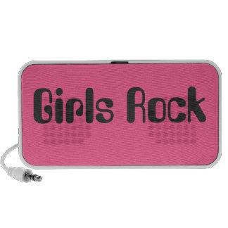Auto-falante da rocha das meninas caixinhas de som para iPod
